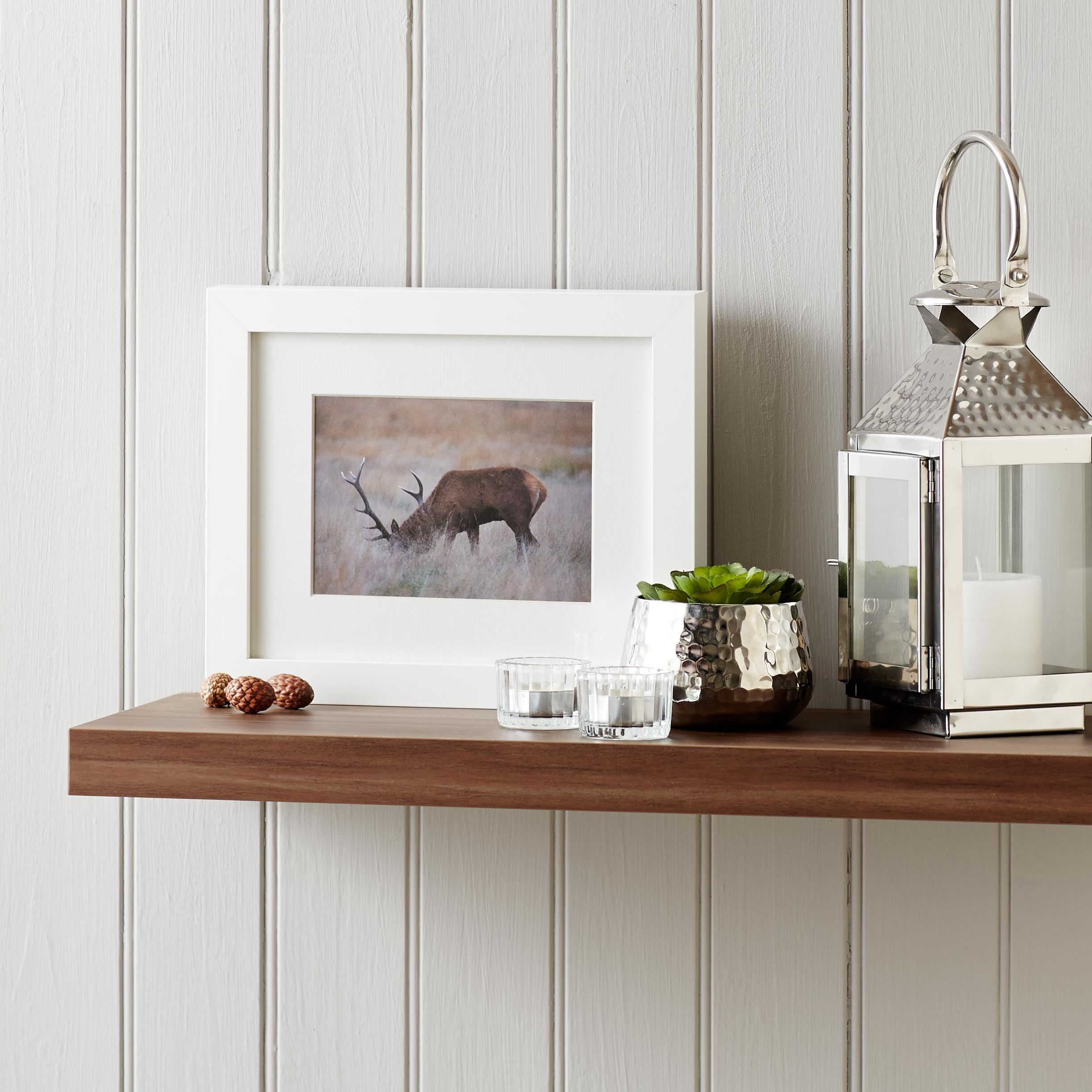 how to put up floating wall shelf