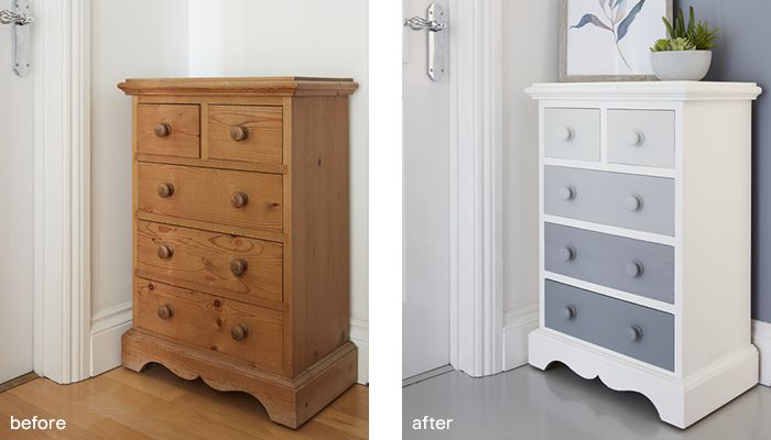GoodHome furniture paint before after 2