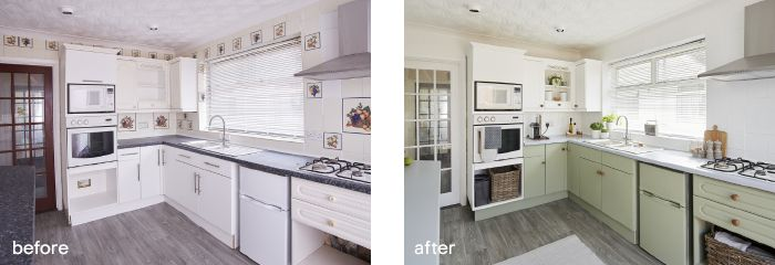 GoodHome multi-surface paint before after 3