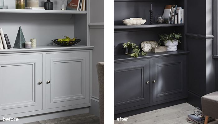 GoodHome multi-surface paint before after 1