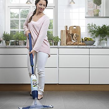 Bona floor mop used on tiled flooring