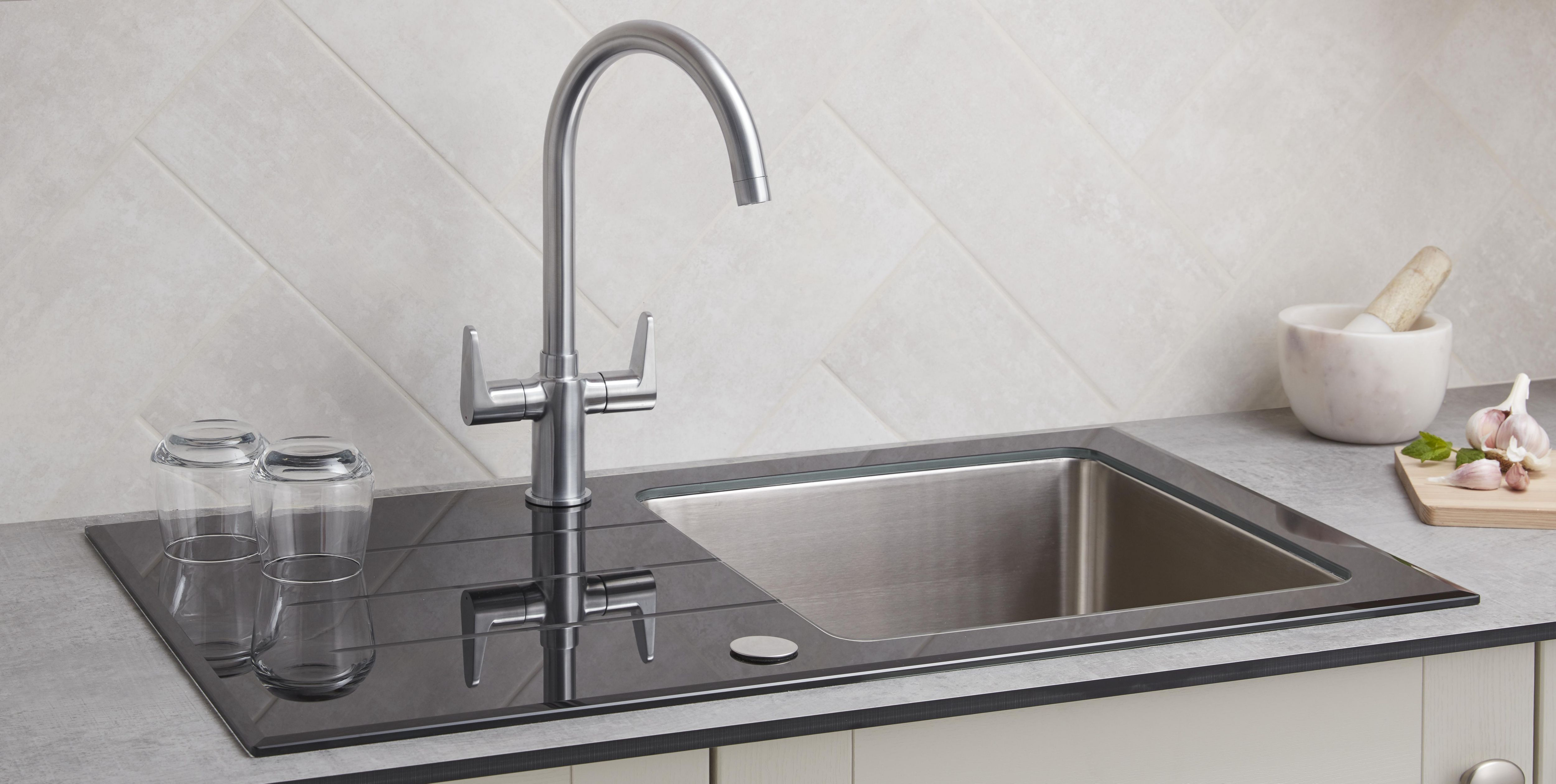 How To Remove Fit A Kitchen Tap Ideas Advice Diy At B Q
