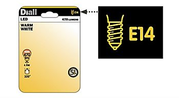 E22 light bulb package