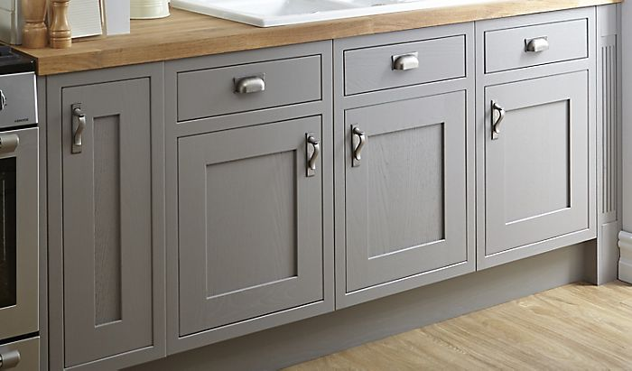 Framed cabinet door - Cooke & Lewis Carisbrooke Framed Taupe kitchen