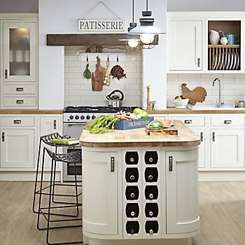 expanded country kitchen ideas cooke lewis carisbrooke ivory framed kitchen - Country Kitchen Ideas