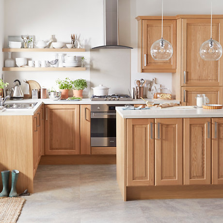 Cooke U0026 Lewis Chesterton Solid Oak Classic Kitchen