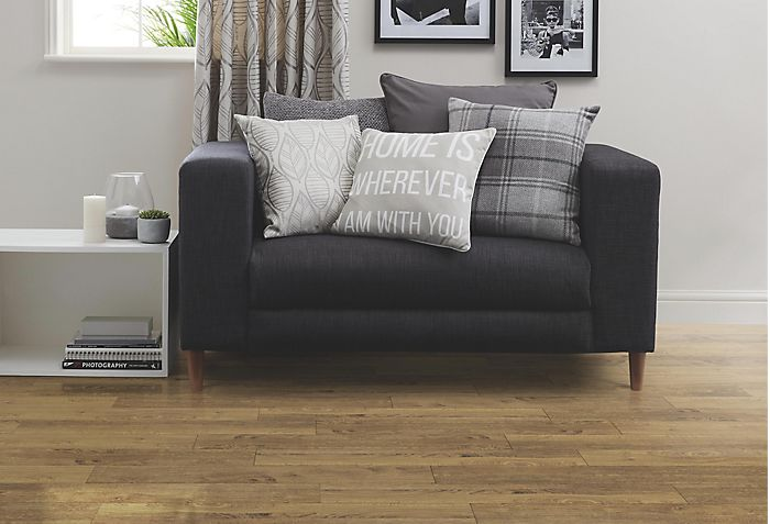 """Concertino Kolberg Oak Effect Laminate Flooring"""