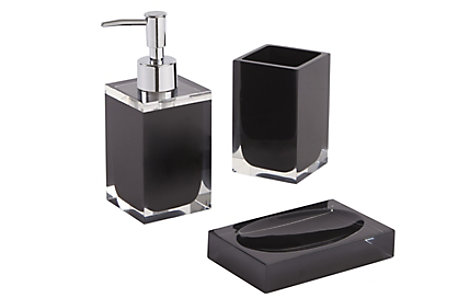 Capraia Black Bathroom Accessories
