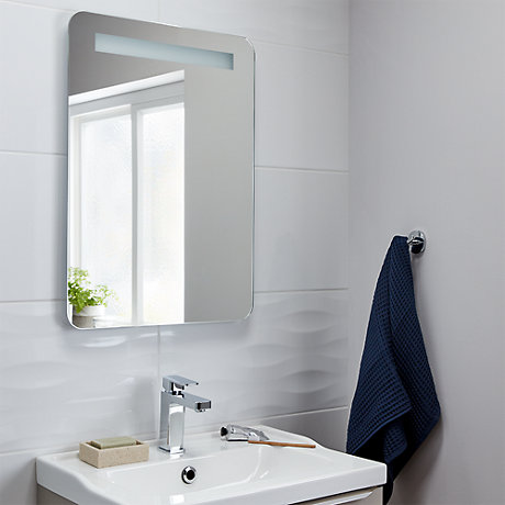 full wall bathroom mirror mirrors length illuminated amp wall mirrors 18449