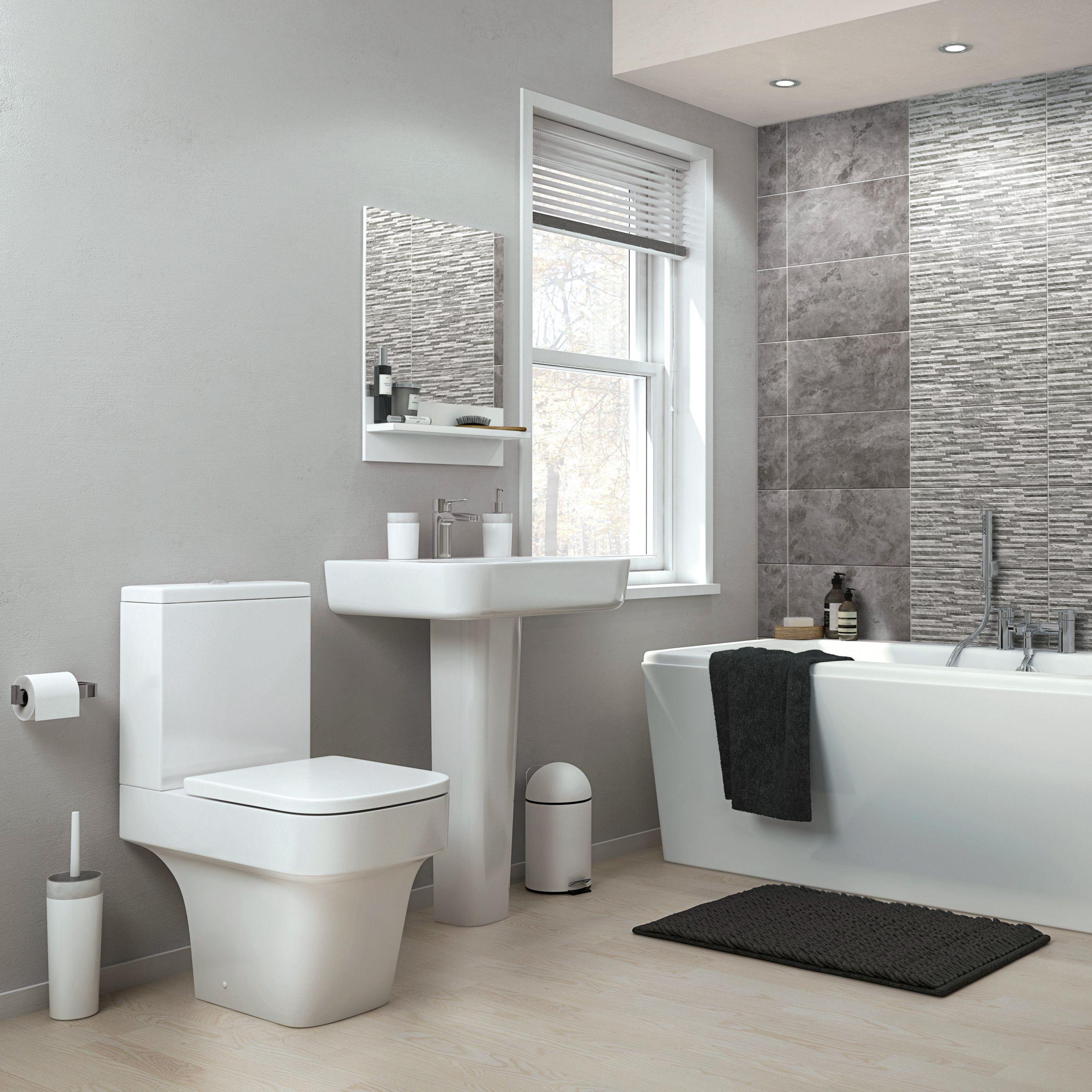 Bathrooms Bathroom Suites Furniture Ideas DIY at BQ
