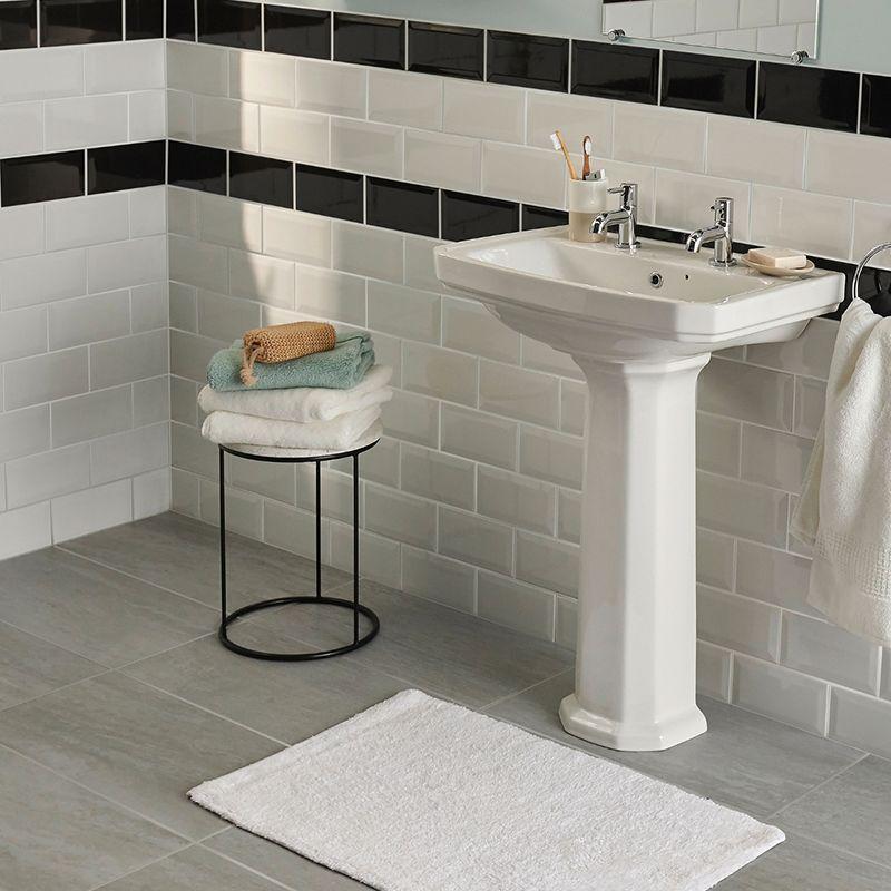 Mosaic Network Wall Mosaic Tile Effect Spotlight Square Black Glass Mosaic Tile Backsplash Kitchen Bathroom Toilet