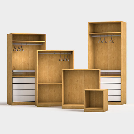 Bespoke bedroom furniture fitted wardrobes diy at b q Build your own bedroom wardrobes