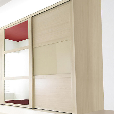 on b and q sliding wardrobe doors track
