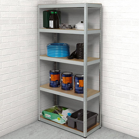 Admirable Garage Storage Garage Shelving Bq Download Free Architecture Designs Pushbritishbridgeorg