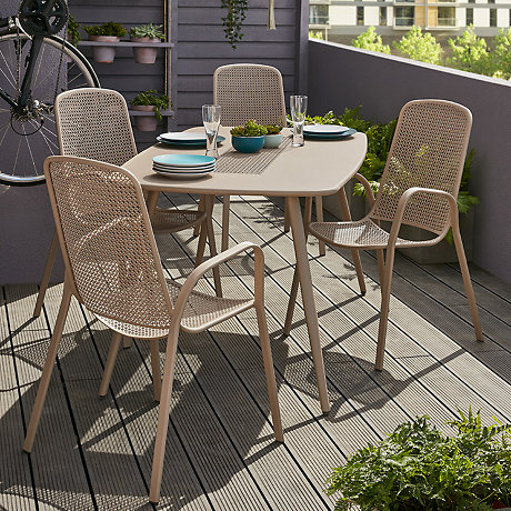 garden chair rectangular seat winchester square sets maze product set table furniture rattan