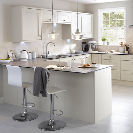 Cooke Lewis Carisbrooke Taupe Fitted Kitchens Diy At B Q