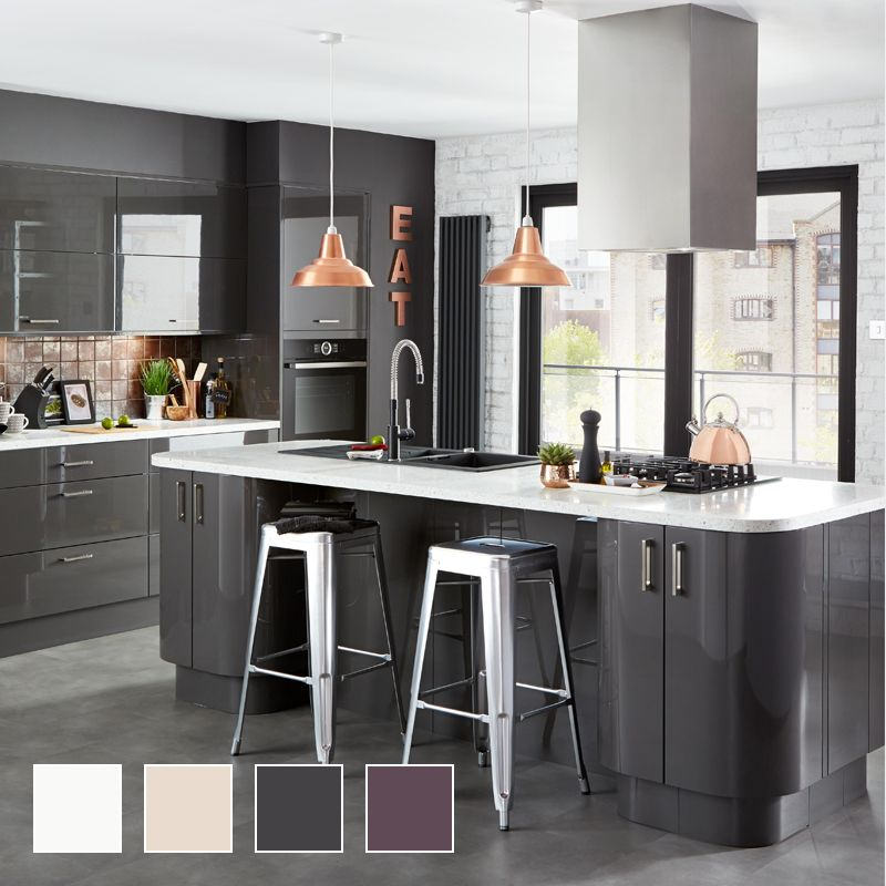 Fitted Kitchens Traditional Contemporary Kitchens DIY at BQ