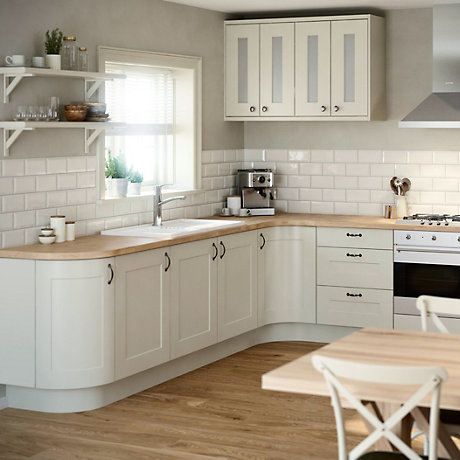Peachy It Chilton White Country Style Fitted Kitchens Diy At Bq Home Interior And Landscaping Pimpapssignezvosmurscom