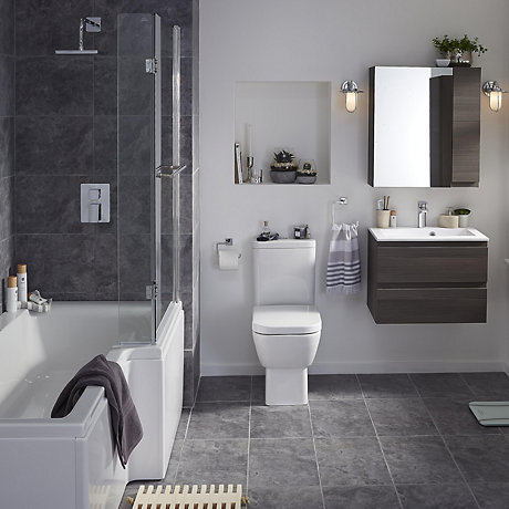 Bathroom Suites Bathrooms Tradepoint