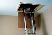 How to gain safe access to the loft