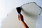 How to repair a ceiling