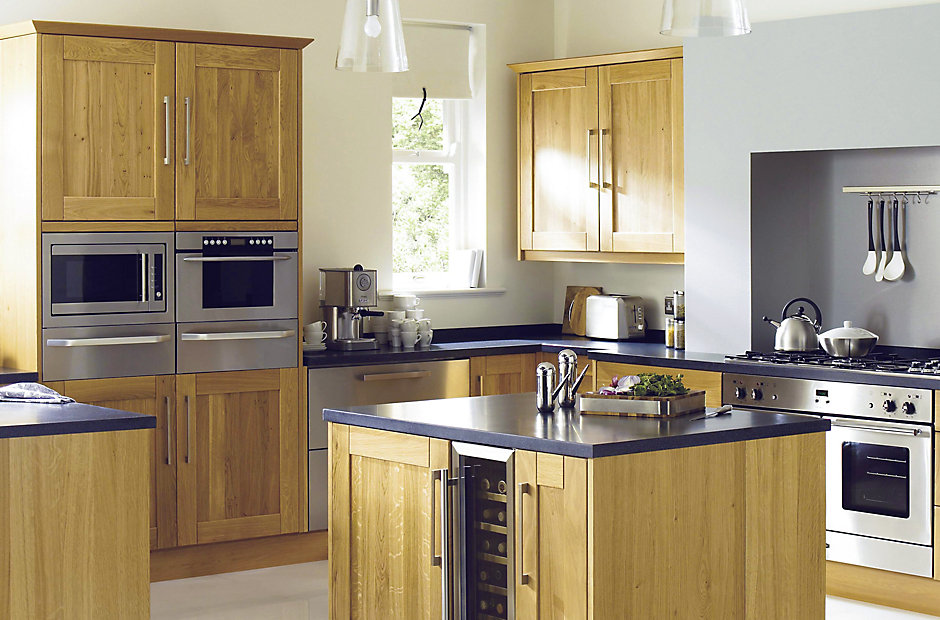 info for 432e4 dbb40 Cooke & Lewis Chesterton Solid Oak | Fitted Kitchens | DIY ...