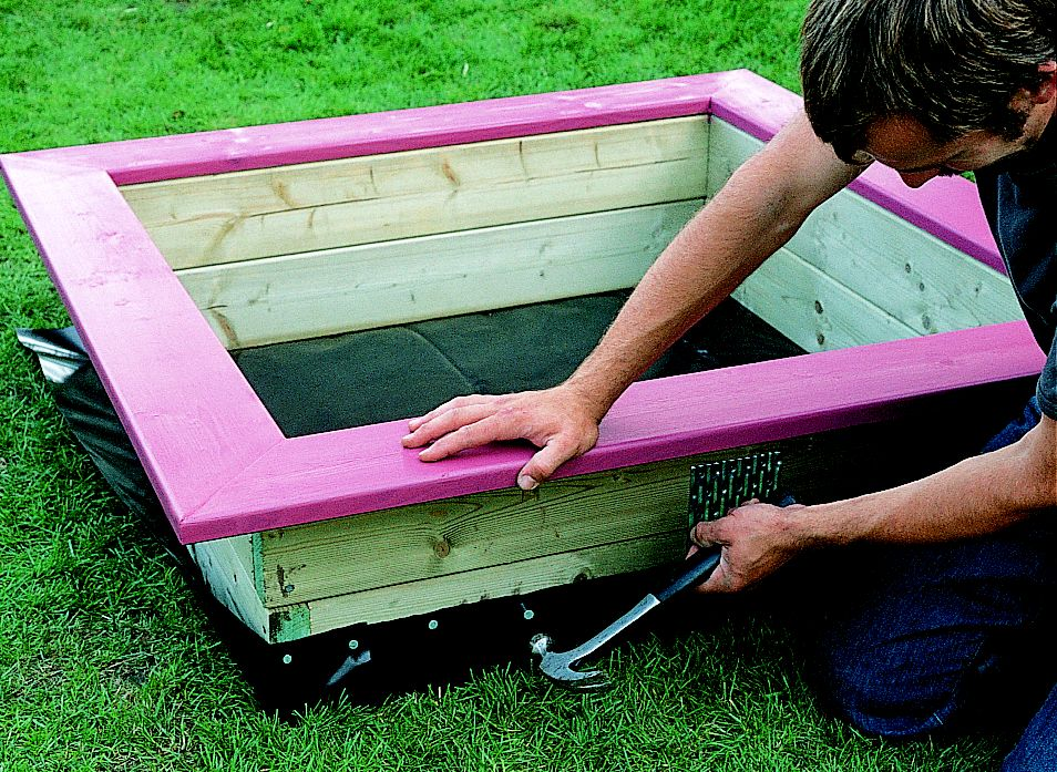 How To Build A Wooden Sandpit Ideas Amp Advice Diy At B Amp Q