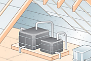 How to insulate a cold water tank