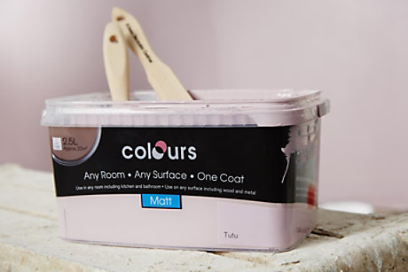 Colours paint can