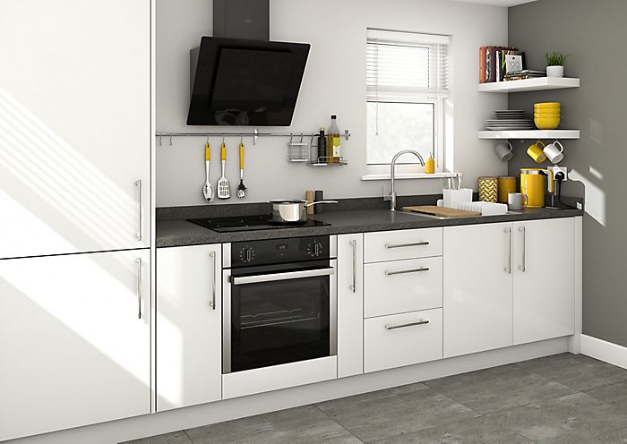 Compact kitchen ideas ideas advice diy at b q - Simple small kitchen design pictures ...