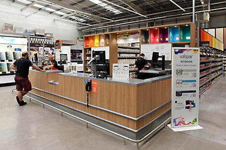 Bq corporate our stores diy at bq cribbs causeway store valspar paint mixing desk solutioingenieria Choice Image