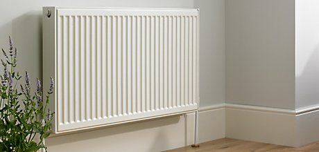 image of double panel radiator