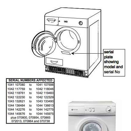 White Knight Condenser Tumble Dryer image
