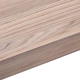50mm Cypress Cinnamon Laminate Wood Effect Square Edge