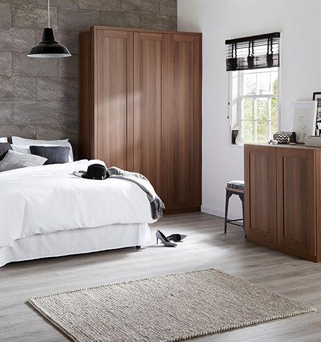 Bespoke bedroom furniture fitted wardrobes diy at b q - Design your own bedroom ...