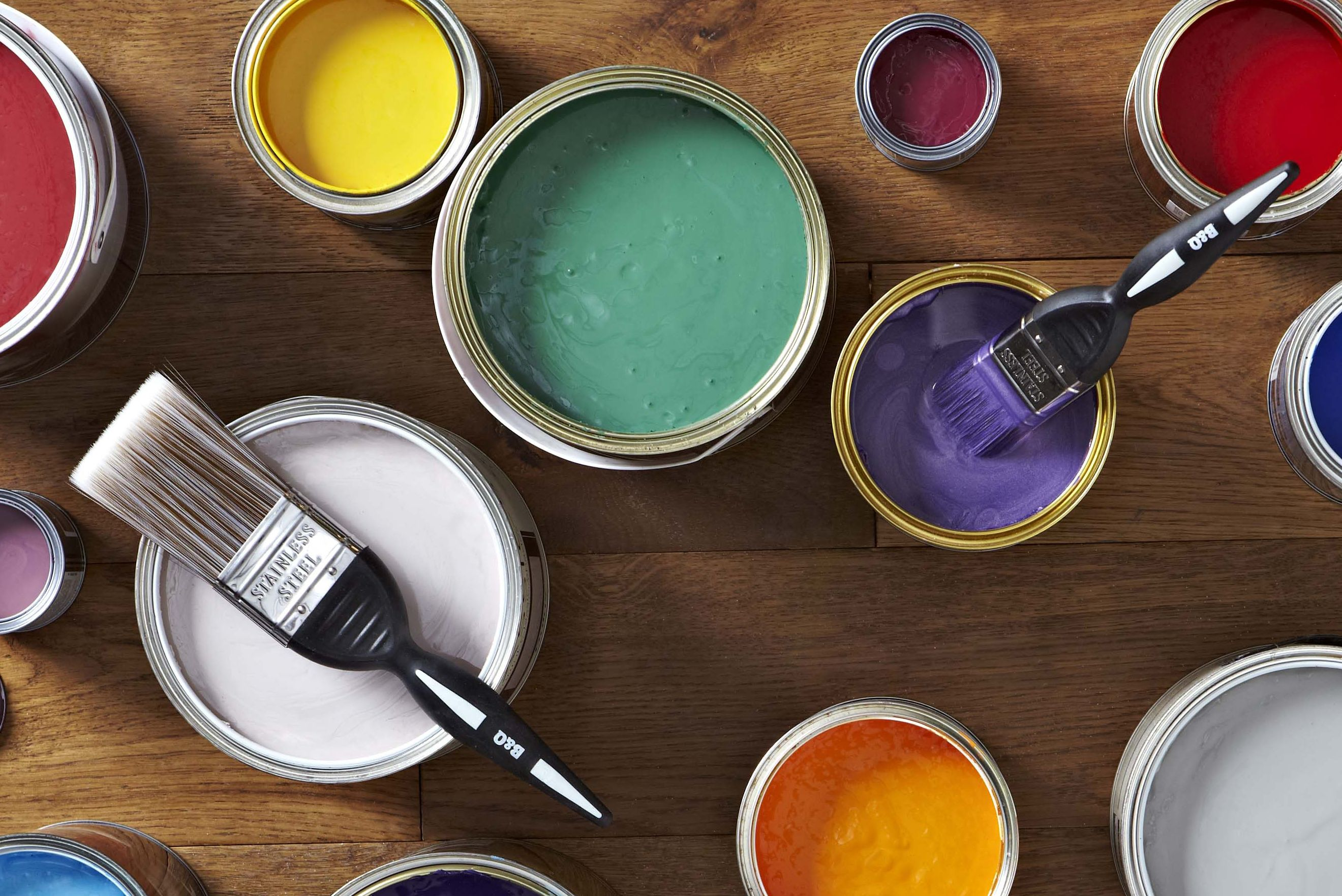 Interior paint buying guide ideas advice diy at b q - Interior painting and decorating ...