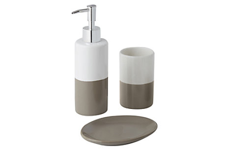 Diani Taupe Bathroom Accessories