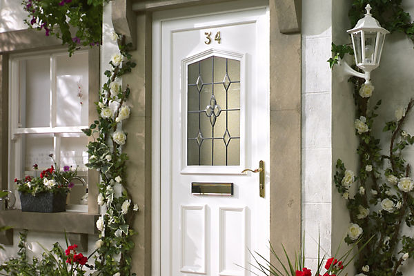 Front doors external doors diy at b q for Front door and window set