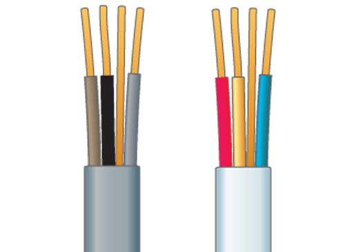 How to understand electrical cables, fle & fuses | Ideas ... Old Electrical Wiring Vs New on