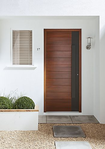 timber external front door