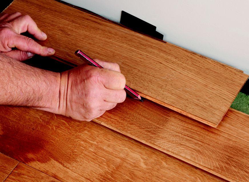 Glue down strip floor install tips