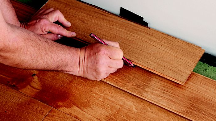 How To Lay Laminate Amp Real Wood Top Layer Flooring Ideas