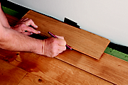How to lay laminate & real wood top layer flooring