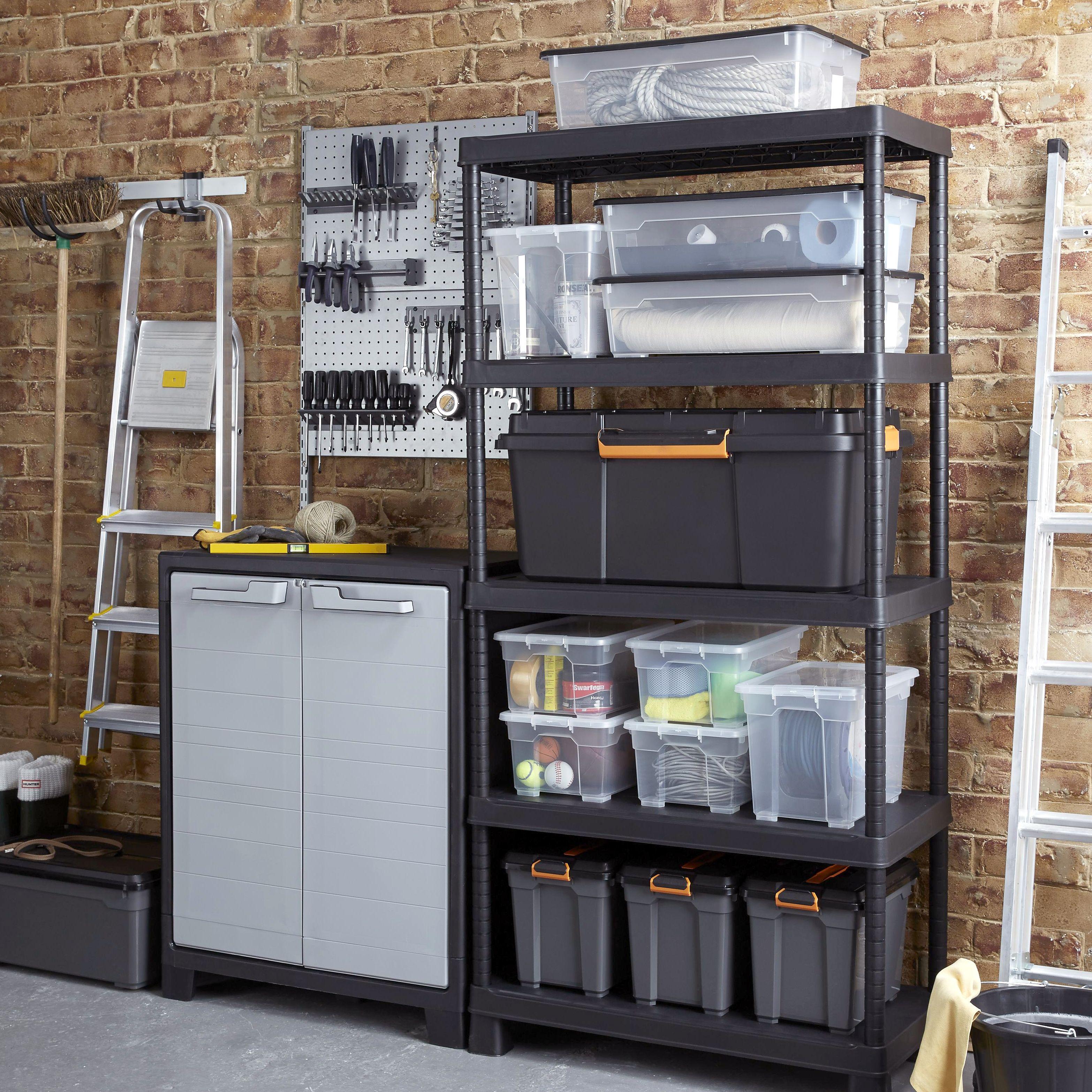 Garage Storage Garage Shelving Amp Storage Cabinets Diy At B Amp Q