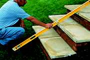 How to build garden steps
