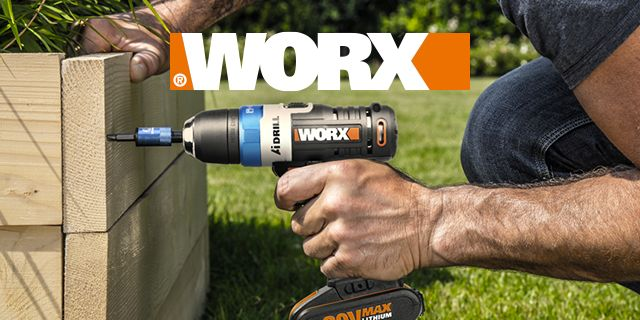 Worx Power Tools Diy At B Amp Q