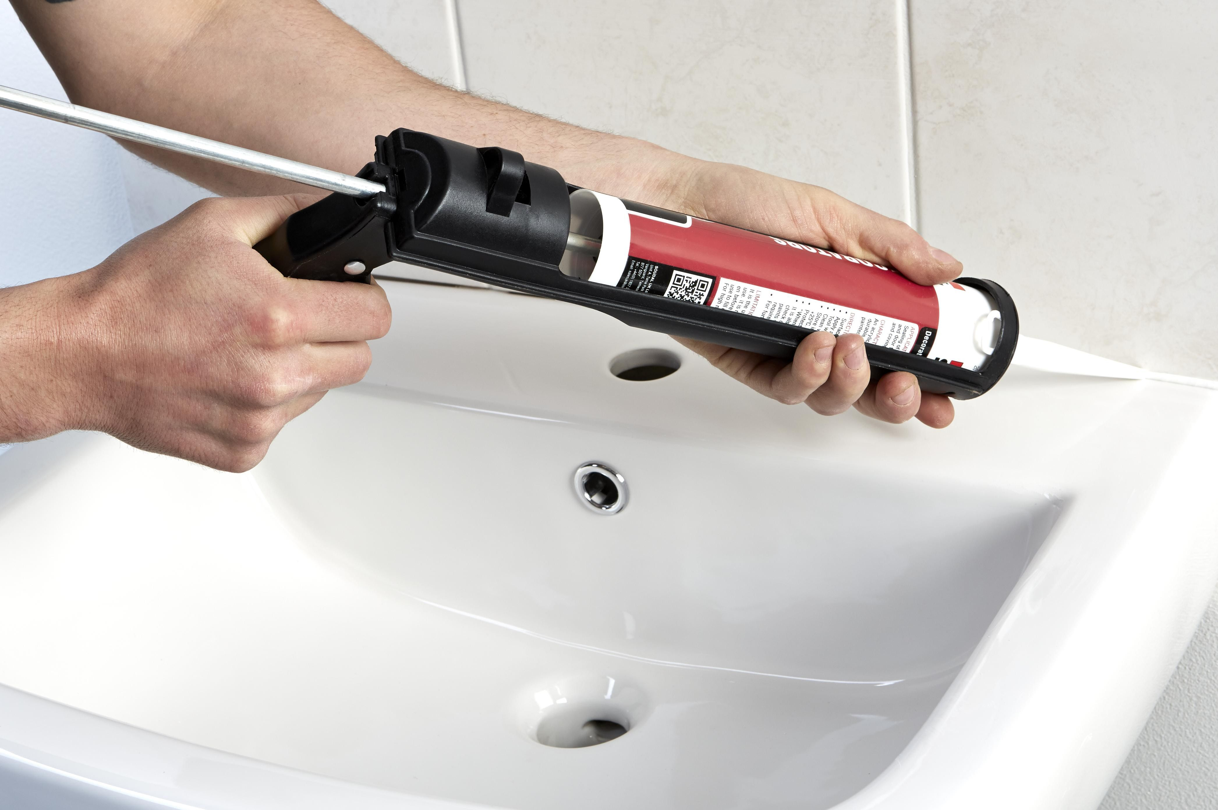 How Long Does Caulking Take To Dry In A Bathroom how to remove and replace sealant | ideas & advice | diy at b&q