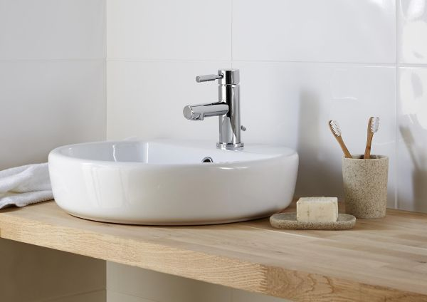 Bathroom basins bathroom sinks diy at b q for B q bathroom accessories