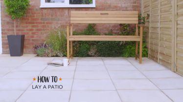 How To Lay A Patio Ideas Advice Diy At B Q