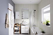 How to paint a bathroom